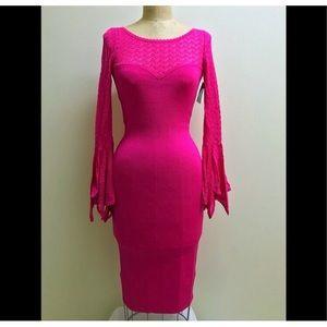 """SALE"" Oscar de la Renta Lace Bandage Dress"